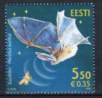 Estonia 2008. Animals / Birds / Bats Stamp MNH (**) - Oiseaux