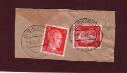 712 De 1941/43 - DIEKIRCH - LUXEMBOURG - Cachet Du 05-11-1943 - Occupation Allemande Par Le 3 ème Reich - 1940-1944 Duitse Bezetting