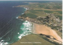Cornwall Postcard - Aerial View Of Mawgan Porth   LC2472 - England