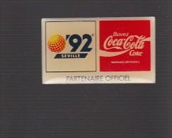Pin´s -  COCA COLA - SEVILLE 92 - Coca-Cola