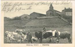 MEURTHE ET MOSELLE 54.CHAMBLEY WELTKRIEG 1914/15 FELDPOST - Chambley Bussieres
