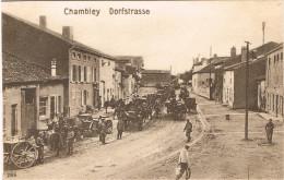 MEURTHE ET MOSELLE 54.CHAMBLEY  DORFSTRASSE - Chambley Bussieres