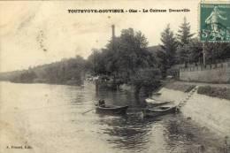 CPA (60)  TOUTEVOIE  GOUVIEUX La Cuirasse Decauville - Unclassified