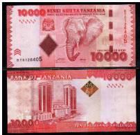 TANZANIA  - 10000 Shilingi  2010 UNC  Pick 44 - Tanzanie