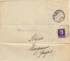 1941 - CINIGIANO / GROSSETO  - FRAZIONALE 30 / 22 -  L3068 - 1900-44 Vittorio Emanuele III