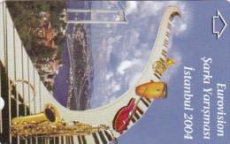 Turkey, N-421, Eurovision Song Contest 2004, 2 Scans. - Turkije