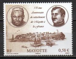 Mayotte - 2011 - 170° An Du Rattachement De Mayotte à La France - Yvert N° 248 ** - Ungebraucht