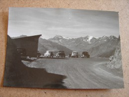 Bz1242)  Passo Del Giovo Presso Vipireno / Jaufenpass Bei Sterzing  (Fiat 500 - Volkswagen Maggiolino) - Bolzano
