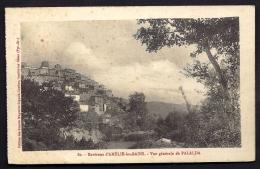 CPA ANCIENNE- FRANCE- PALALDA (66)- VUE GENERALE EN ÉTÉ-SUR LA COLLINE- GROS PLAN - Frankreich