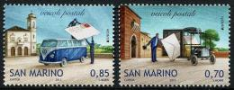 San Marino 2013 - Vw Combi, Véhicules Postaux, Europa 2013 - 2val Neuf // Mnh - San Marino
