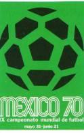 "FIGURINE PANINI STICKERS - SERIE ""WORLD CUP STORY"" : MANIFESTO MESSICO ´70 (MEXICO ´70 W.C. POSTER) - NUOVA / NEW - Panini"