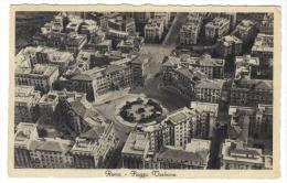 TZ2760 - ITALIA 1933 , Roma Piazza Verbano : Veduta Aerea - Piazze