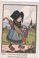 ILLUSTRATEUR  -  HANSI - Gretel (dalla Stampa E La Bambola) - (Pub Au Dos) - Hansi