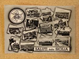 Pa1094)  Saluti Dalla Sicilia - Palermo