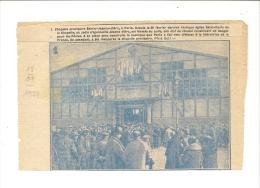 Pelerin 1928  Chapelle Provisoire Sainte Jeanne D'arc Paris - Non Classés