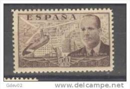 ES883-M4TARSC..AEREO.España. Spain Espagne. Autogiro   LA CIERVA.1939   (Ed 883**) Sin Charnela. MUY BONITO . - Arquitectura