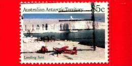 Territorio Antartico Australiano (AAT) - 1984 - Scene Antartiche - Aereo - Airfield - Landing Field - 85 C - Usati