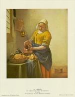 SOUBRY :Prent/Image 10–1: Jan VERMEER : ## Het Melkmeisje / La Laitière ## - Sin Clasificación