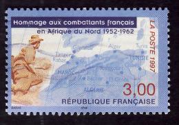FRANCE  1997  -  Y&T 3072  -  Hommage Aux Combattants    -  Oblitéré - Gebraucht