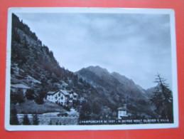 Champorcher (AO) - Albergo Mont Glacier - 1959 - Viaggiata - Andere Städte