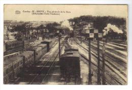Brive Vue Générale De La Gare (bifurcation Tulle Toulouse) - Brive La Gaillarde