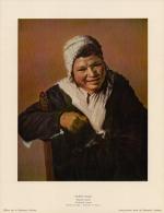 SOUBRY :Prent/Image 11–3: Frans HALS : ## Lachende Vrouw / Femme Riante ## - Kaufmanns- Und Zigarettenbilder