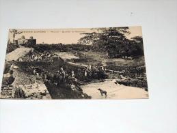 Carte Postale Ancienne : GRANDE COMORE : MORONI , Quartier De Badjanani , Animé - Comores