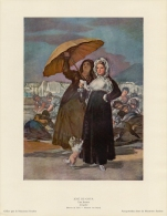 SOUBRY :Prent/Image 17–3: GOYA : ## Jeugd / La Jeunesse ## - Kaufmanns- Und Zigarettenbilder