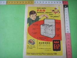 51) Publicité  : Far  Gaziniere ; Verso : - Advertising