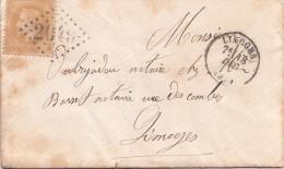 1869 RdV Galant/713 - Poststempel (Briefe)