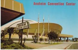 Anaheim CA California, Old Convention Ceter Building Near Disneyland, C1960s Vintage Postcard - Anaheim