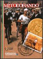 OLYMPIC GAMES 1908 / ATHLETICS - ITALIA CARPI 2008 - CENTENARIO MARATONA DORANDO PIETRI - MOSTRA FILATELICO/NUMISMATICA