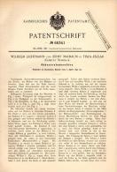 Original Patentschrift - W. Lichtmann Und J. Maibaum In Tiszaeszlár , 1892 , Erntemaschine , Agrar , Jewish , Jude !!! - Maschinen