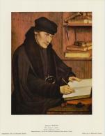 SOUBRY:Prent/Image 32–4: Quinten METSYS : ## Erasmus ## - Kaufmanns- Und Zigarettenbilder