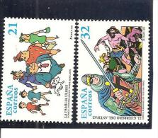 España/Spain-(MNH/**) - Edifil  3486/87 - Yvert  3063/64 - 1931-Hoy: 2ª República - ... Juan Carlos I