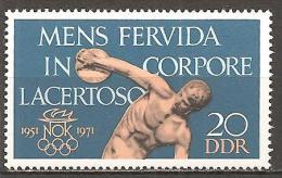 DDR 1971 // Michel 1660 ** (2003) - [6] Democratic Republic
