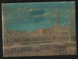 Saudi Arabia Picture Postcard 3D Holy Mosque Ka´ba Macca  Post Card Masjid - Arabie Saoudite