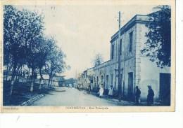 PENTHIEVRE ---La Rue Principale - Algérie