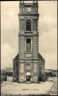 Cp Harnes Pas De Calais, Vue Sur L'Eglise - Otros Municipios