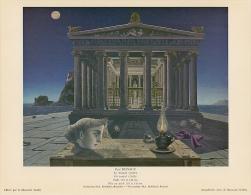 SOUBRY :Prent/Image 107–2: P. DELVAUX : ## De Tempel / Le Temple ## - Sin Clasificación