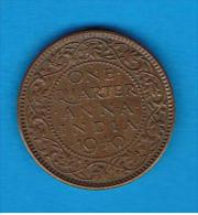 INDIA  BRITANICA  -  1/4 Anna 1940  KM530 - India