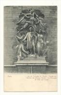 Cp, 75, Paris, L'Arc De Triomphe De L'Etoile, Façade Sur L'Avenue Des Champs Elysées, Le Triomphe De 1810 - Arc De Triomphe