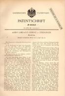 Original Patentschrift - A. Heberle In Überlingen , 1892 , Decklog , Apparat , Instrument , Log !!! - Historische Dokumente