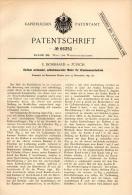 Original Patentschrift - U. Bosshard In Zürich , 1891 , Motor Für Druckwasserbetrieb , Wasserwerk , Wasser , Pumpe !!! - Machines