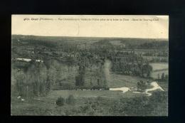 Cpa Guer Coetquidan Vue Générale De La Vallée D'Oyon - Guer Coetquidan