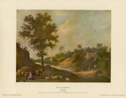 SOUBRY :Prent/Image 18–3: David TENIERS : ## Landschap / Paysage ## - Estampas & Grabados