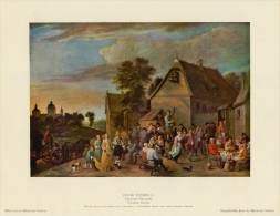 SOUBRY :Prent/Image 18–1: David TENIERS : ## Vlaamse Kermis / Kermesse Flamande ## - Stiche & Gravuren