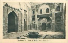 MEKNES - Cour De La Médersa Bon-Anania - Meknès
