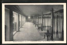 CPA Cambo-les-Bains, L'Etablissement Thermal, Vue De La Salle De Repos - Non Classés