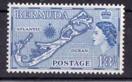 """Bermuda, 1953, SG 145b, MNH, Die II """"Sandys"""" - Bermudes"""